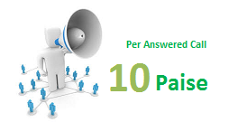 cheapest-voicebroadcasting at 10 Paise